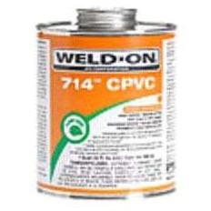 1 Quart Heavy Solvent Cement, Orange