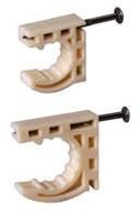 "1"" Plastic 3-Way Half/Full Pipe Clamp"