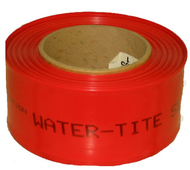 "1/2 to 1"" Tube Red Pipe Sleeve"