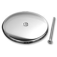 """3"""" Wall Cleanout Cover Wall Plate, Stainless Steel"""