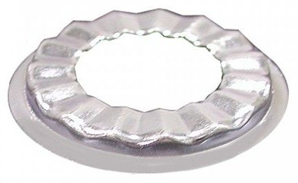 Shallow Pattern Bathroom Sink Basin Rosette, Zinc Plated
