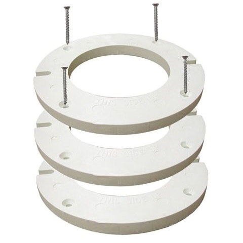 Adhesive Caulk Closet Flange Extension Kit