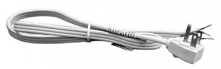 3 Ft. Disposal Power Cord - Angle Plug Pigtail, 16/3 Gauge Wire