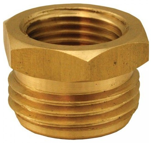 "3/4"" Brass Hose Adapter Male Hose Threaded x Female Threaded"