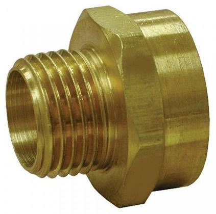 "3/4"" Brass Hose Adapter Female Hose Threaded x Male Threaded"