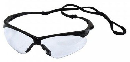 Clear Nemesis Safety Glasses