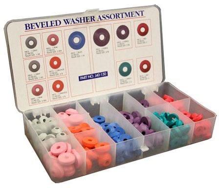 Beveled Assorted Fastening Washer Kit
