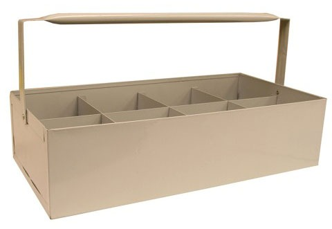 Epoxy Coated Steel Pipe Fitting Caddy Tote Tray
