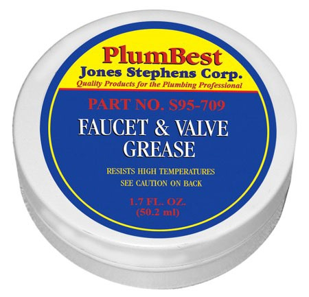 Lithium Faucet and Valve Grease, Amber