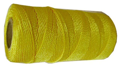 #18 X 225 Masons Twine, Yellow Nylon