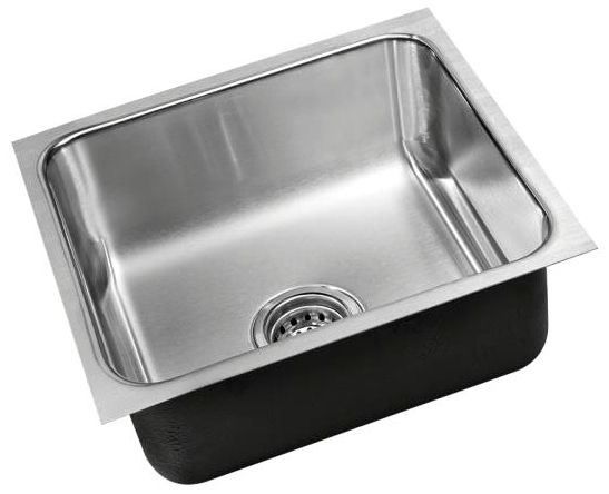 "18"" X 16"" Undermount Kitchen Sink, 304 Stainless Steel"