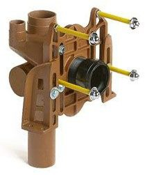"""4"""" No Hub Inlet / Outlet Water Closet Fixture Support - Shallow Rough-In"""