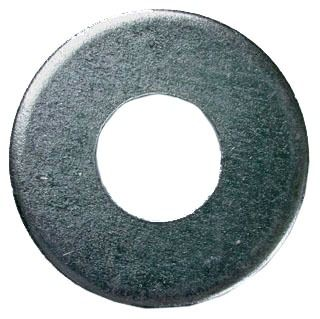 "3/8"" Steel Flat Washer - Zinc Plated"
