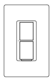 LUT PD-5WS-DV-WH CASETA 5A SWITCH 120/277V, no neutral Lutron