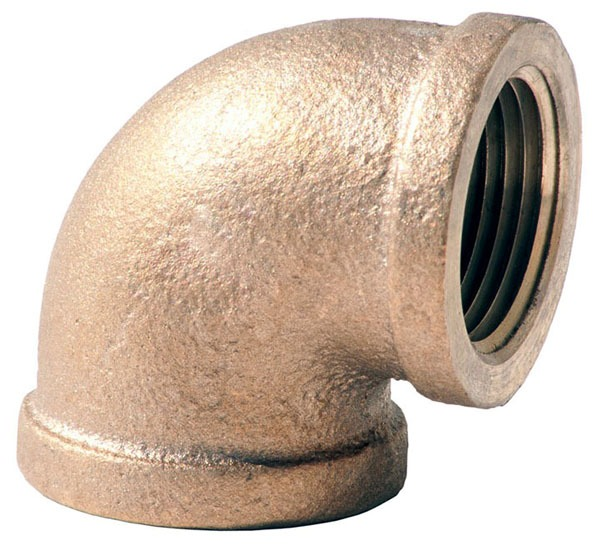 Lead-Free Brass 90D Elbow Fitting