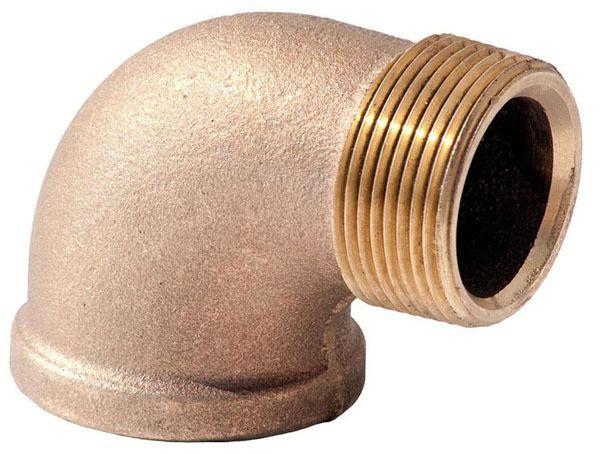 Lead-Free Brass Street 90D Elbow Fitting