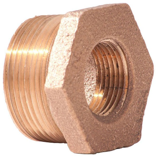 "3/4"" X 1/2"" Brass Hex Reducing Bushing"