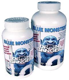 Solid Drain Banger, Blue