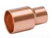 "3/4"" x 1/2"" Copper Reducing Coupling - C"