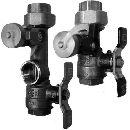 "3/4"" Soldered x 3/4"" Soldered Water Heater Isolation Valve Kit"