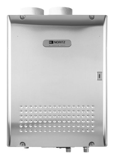 Commercial Indoor/Outdoor Tankless Water Heater, Stainless Steel