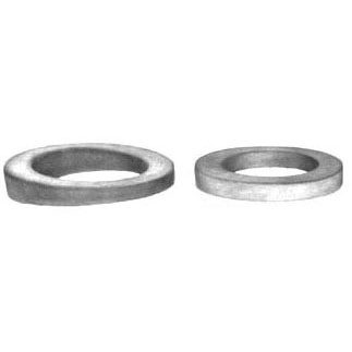 """2-1/8 X 3-3/16"""" Round Beveled Waste and Overflow Washer, Sponge Rubber"""