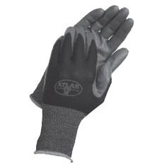 L Long Cuff Gloves, Dark Gray