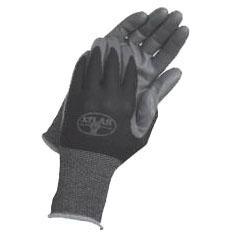 L Long Cuff Gloves, Dark Gray