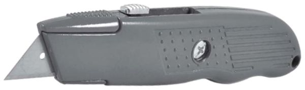 Retractable Utility Knife with Extra Blade