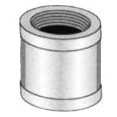 "3/4"" Red Brass Straight Coupling"