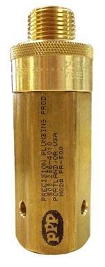 Automatic Pressure Drop Activated Trap Primer, Brass