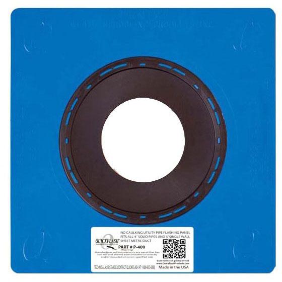 "4"" Flashing Panel, Polyethylene/Thermoplastic Elastomeric"