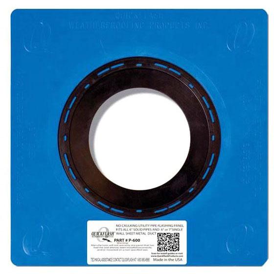 "6"" Flashing Panel, Polyethylene/Thermoplastic Elastomeric"