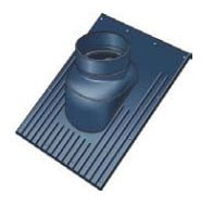 Plastic Roof Flashing - 1/12 to 6/12 Pitch