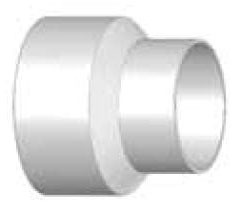 8 x 6 Concentric Reducer Coupling HxH