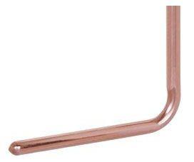 "1/2"" X 8"" X 7"" Lead-Free Copper L-Tube Stubout Elbow"