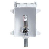 """Ice Maker Outlet Box, ABS 1/2"""" PEX Grip x 1/4"""" Compression"""