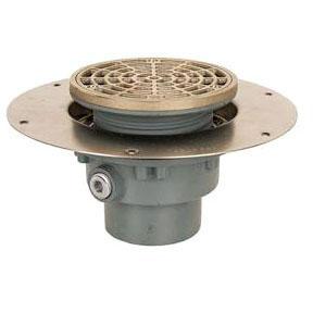 No Hub Floor Drain Ductile Iron