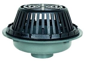 "3"" No Hub Roof Drain Cast Iron"