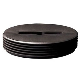 Polypropylene Slotted Head Cleanout Plug 3-1/2""