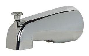"5-1/4"" Diverter Tub Spout, Chrome Plated"