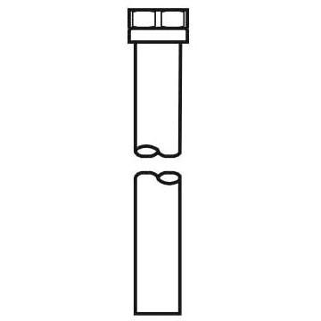 """Flushometer Vacuum Breaker, Chrome Plated 1-1/2"""" X 15"""""""