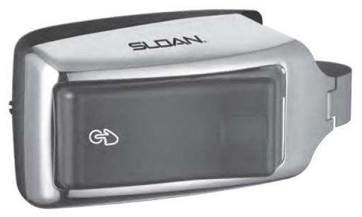 Smooth Urinal/Closet Flushometer Operator Retrofit Kit