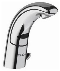 Electronic Faucet with Infrared Sensor - Optima, Chrome Plated, Die-Cast Metal, Deck Mount, 1.5 GPM