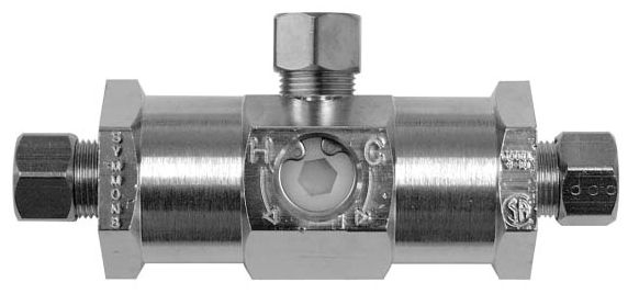 Compression Faucet Mixing Valve Polished Chrome