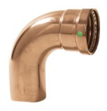 "4"" ProPress Copper Street 90 Degree Elbow"