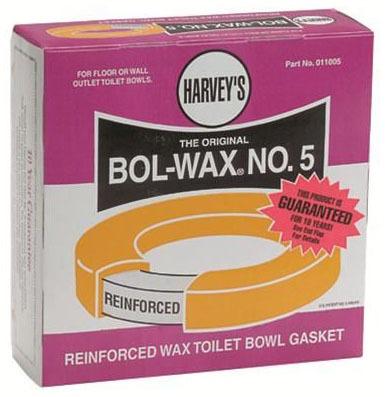 #6 Bol-Wax Reinforced Toilet Wax Gasket