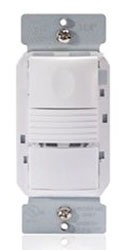 wat PW-101-W WAT PIR WALL SWITCH SENSOR W/ NEUTRAL WIRE 120/277 V WHITE