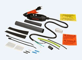 RAY H908 RAY PIPE HEATING CABLE PLUG-IN POWER CONN KIT W/GFI