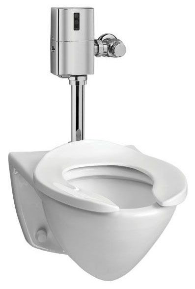 Rear Outlet Toilet, Vitreous China